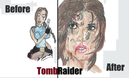 Tomb Raider: Before and After by Dudley731
