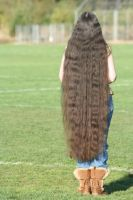 How Long Is My Hair? THIS long! by Rhov