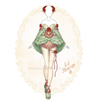 [Close] Adoptable Outfit Auction 284 by LifStrange