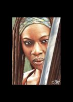 Michonne - The Walking Dead by Dr-Horrible