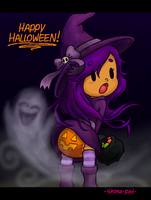 [Old] One Breezy Halloween Night by Shima-pad