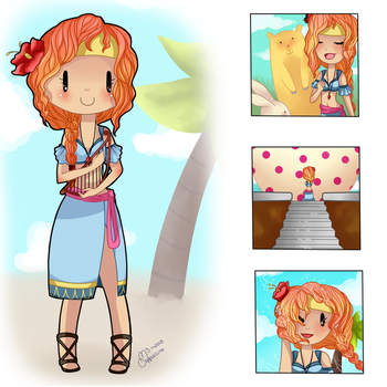 ::REDESIGN:: Marin by MsCappuccino