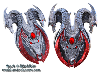 Dragon Shields Stock by RReddVar