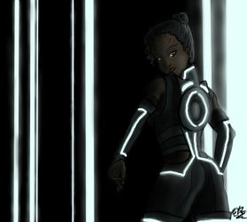 :Role-Playing: Tron Tiana by Demented-Duo