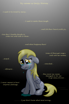 Derpy's Lament by AleximusPrime