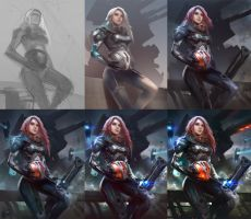 Battle Ready process by Guesscui