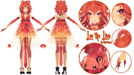 [MMD MotME + DL] Leo the Lion by Smol-Hooman