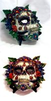 Sugar Skull Mask by El-Sharra