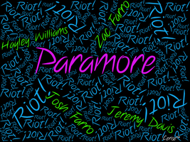 Paramore Wallpaper by BlackThunder08