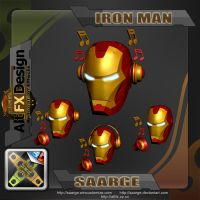 IronMan Music Icons by sAARGe