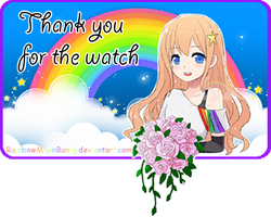 Thank You For The Watch by RainbowMoonBunny