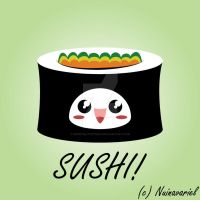 .:.Kawaii Sushi.:. by Berryblitzstudio