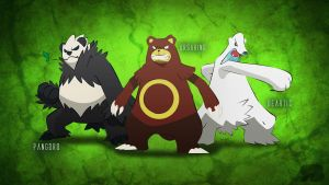 Pokemon Bears Desktop Background