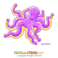 Octopus Poulpe FROGandTOAD by FROG-and-TOAD