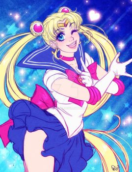 Sailor Moon by Roots-Love