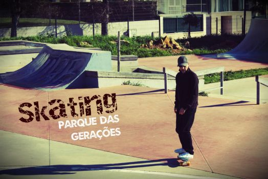 Skating at Parque Das Geracoes by xenomorph