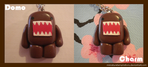 Domo charm by MiniatureTemptations
