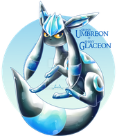 Glaceon X Umbreon by Seoxys6
