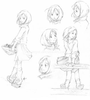 With a Smile - Chara Sheet by EpicMyst