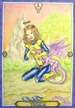 X-Men Tarot - Shadowcat - Strength by IAmABananaOo