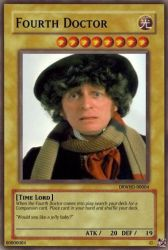 Fourth Doctor Trading Card by RMan021