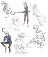 Jack Frost- Doodle and practice by AlexDasMaster