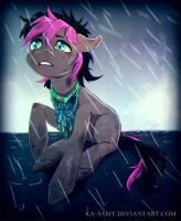 Commission - Poor Mercury by ka-samy