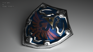 Hylian Shield by o0Hellton0o