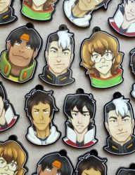 Voltron charms by Kolaholismi