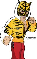 Tiger Mask by Ahmed-Fahmy