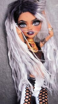 ~Roanne~ Monster High Clawdeen Wolf OOAK repaint by RogueLively
