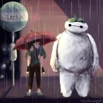 My Neighbour Baymax by tinselswan