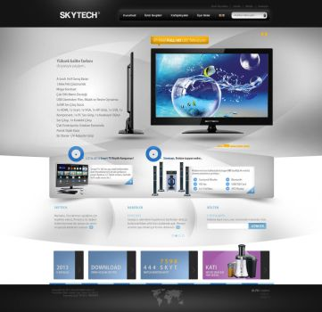 Skytech WebInterface Product Introduction Stage by alisarikaya