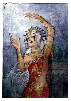 COM ~ Birth of the Moon by Songes-et-crayons