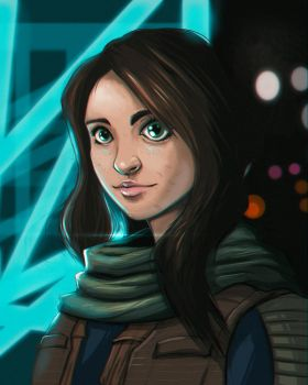 Jyn Erso by Paterack