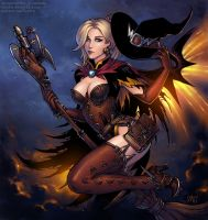 Mercy - witch skin (SFW version) by Candra