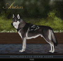 Isengard's I'll Stand Alone by DunBroch