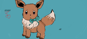 eevee by silvaglace