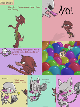Fnaf silly comic - Foxys Pride part 4 by Maria-Ben
