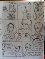 Fable 2 Quick Sketch Comic by Tinalbion