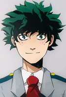 Midoriya / Boku no Hero Academia by darwh