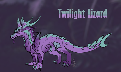 Hatching lizard adopt from 3 egg (part 2) by AnimaTenebroso