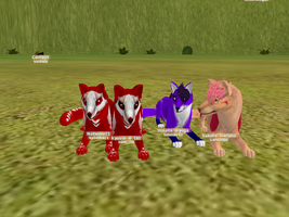 me and some freinds on fh by noeltia19