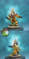 Vulcan Imperial Fists Version by HomeOfCadaver