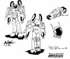 Hyperion design sheet 1 by illogictree