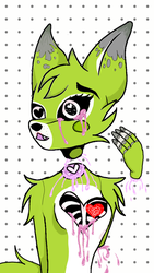 //YCH\\ Pastel Lime by Pink-Sanity