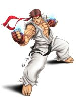 Ryu: ' intense ' Coloured by Thrakks