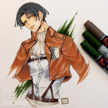 Levi (commission for shirouko) by OnlyPaintMode