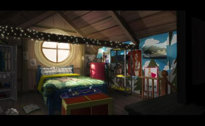 Fantastic! Bedroom by AnimatedJet