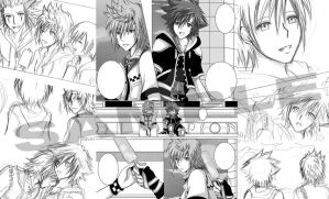 Kingdom Hearts Doujin Preview by Alasse-Tasartir